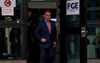 Serrano acudió a rendir versión dentro del caso Balda