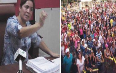(Video) Alcaldesa de Catamayo asume que los eventos por carnaval registraron pérdidas