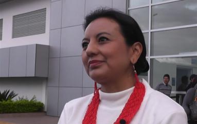 (Video) Directora del Servicio Nacional de Contratación Pública visitó la ciudad de Loja.