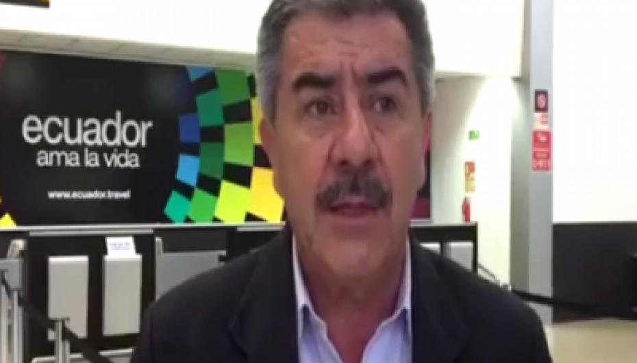 """(Video) Rubén Bustamante: """"Las decisiones políticas representan un baño de transparencia para el País"""""""
