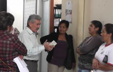 (Video) Reclamos por falencias en sistema de tramites en la Unidad de tránsito municipal