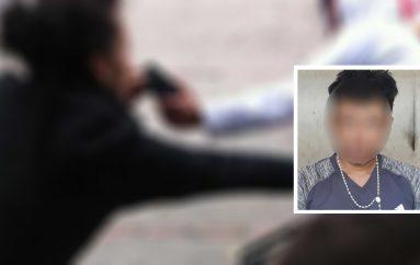 """(Video) Alias """"Chinicuro"""" detenido por robo a ciudadano en el parque de Catamayo"""