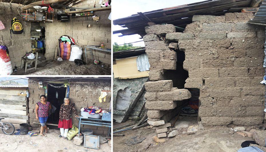 (Video) A punto de colapsar vivienda de humilde familia en Catamayo
