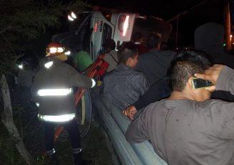 Conductor queda atrapado en camión tras accidente en la vía Las Chinchas – San Pedro de la Bendita
