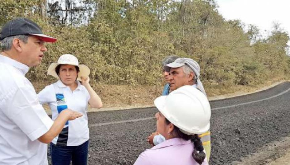 (Video) El 29 de abril Angos e Hijos entregará a prefectura la vía Pindal – Milagros – Paletillas