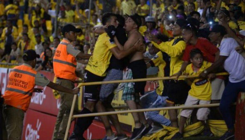 Barcelona vence 1-0 a Guayaquil City con gol de Dinenno en el último minuto