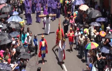 (Video) Varios eventos se realizaron en el barrio Trapichillo por Semana Santa.