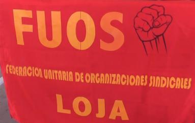 (Video) FUOS expresa su desacuerdo con el proyecto económico.