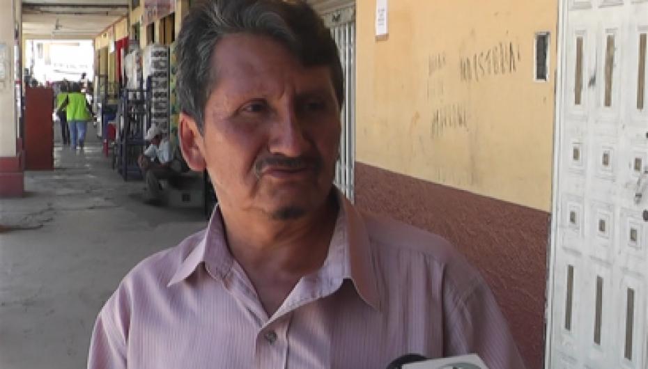 (Video) Presidente de comerciantes del centro de acopio minorista propone renovar reglamento interno