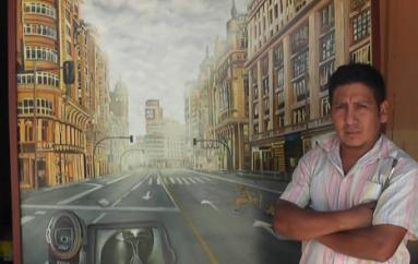 (Video) Espartaco Abrigo participará nuevamente en Concurso Internacional de Pintura.