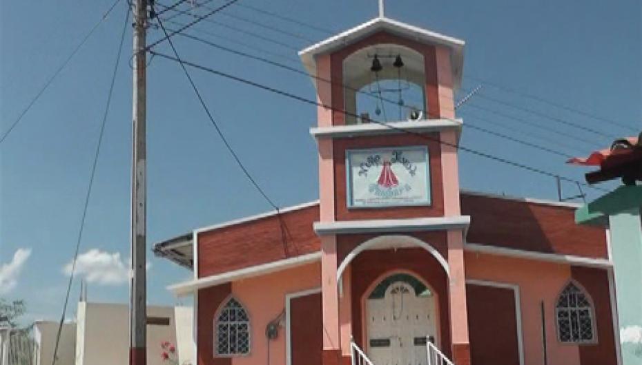(Video) Directivos trabajarán en actividades para la ampliación de la Capilla del Divino Niño de Tambara.