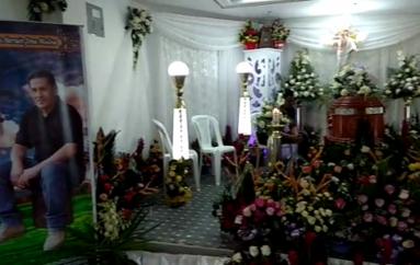 (Video) Familiares y amigos le dieron último adiós a Luis Jima Molina