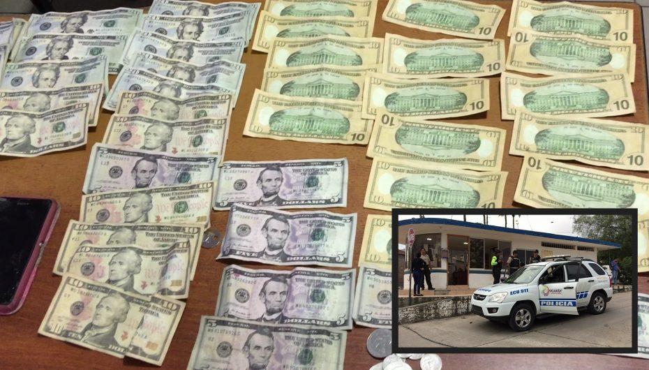 (Video) Dos mujeres fueron detenidas en Catamayo con más de $400 dólares falsos
