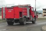 (Video) Cuerpo de Bomberos de Catamayo recibió alerta que un vehículo se encontraba incendiándose.