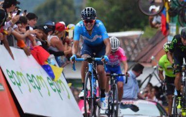 Richard Carapaz muestra su poder de escalador en el Giro de Italia