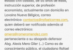 Fiscalía solicita vincular a expresidente Rafael Correa en caso Balda