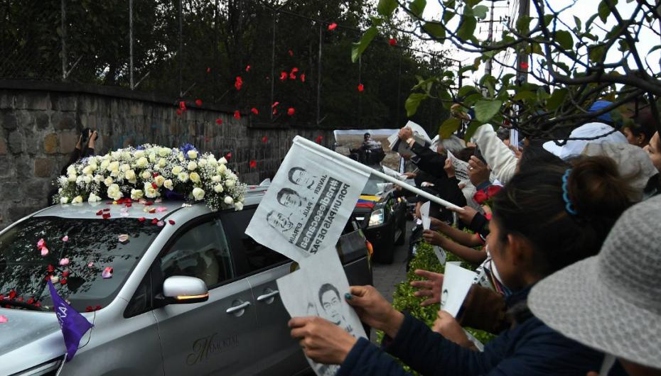 Restos de periodistas de El Comercio volvieron a su redacción