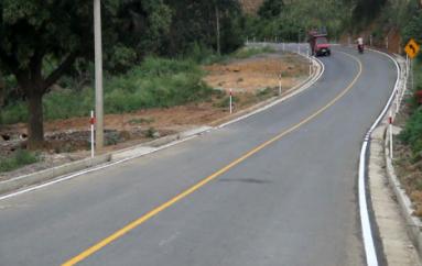 (Video) Prefectura de Loja continúa trabajando en las vías rurales de la Provincia.