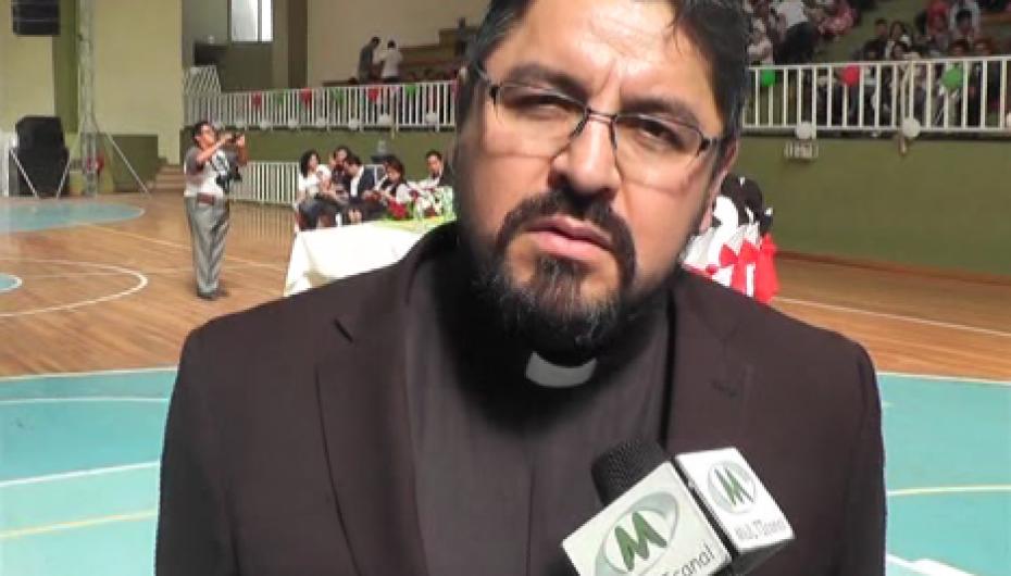 (Video) Padre Luis Vicente Delgado es el nuevo Rector de la Unidad Educativa Nuestra Señora del Rosario.