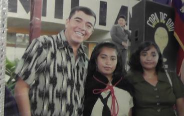 Edgar Pineda; Personaje de mi tierra