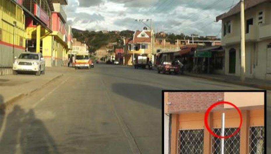 (Video) Señales de no estacionar en Avenida circunvalación fueron retiradas a poco tiempo de colocadas