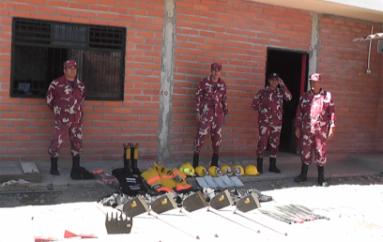 Gestión de riesgos entregó equipamiento y herramientas al Cuerpo de bomberos de Catamayo