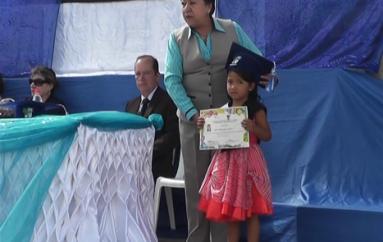 (Video) 29 niños de educación inicial se incorporaron en la Escuela Carlos Augusto Ortega.