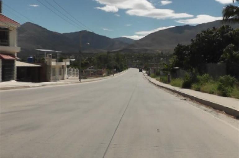 Dirigente barrial reclama por trabajos inconclusos en avenida