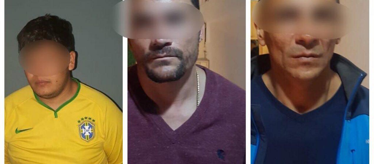 Policía Nacional capturó a integrantes de presunta banda que se dedicaba al robo en domicilios