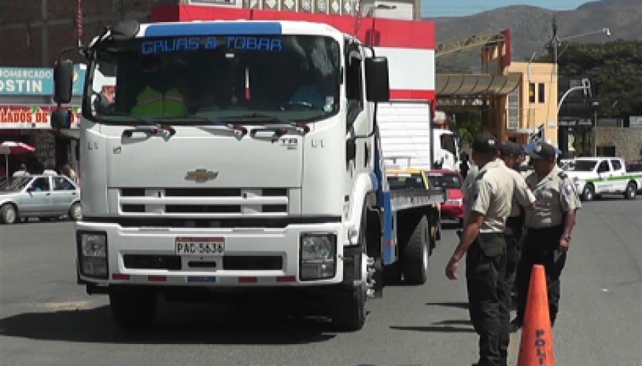 Policía y Comisaría nacional desarrollaron operativo vial