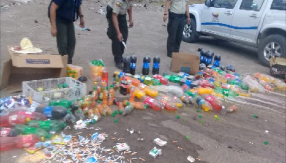 (Video) Mas de tres mil productos fueron destruidos por Comisaría Nacional de Policía.