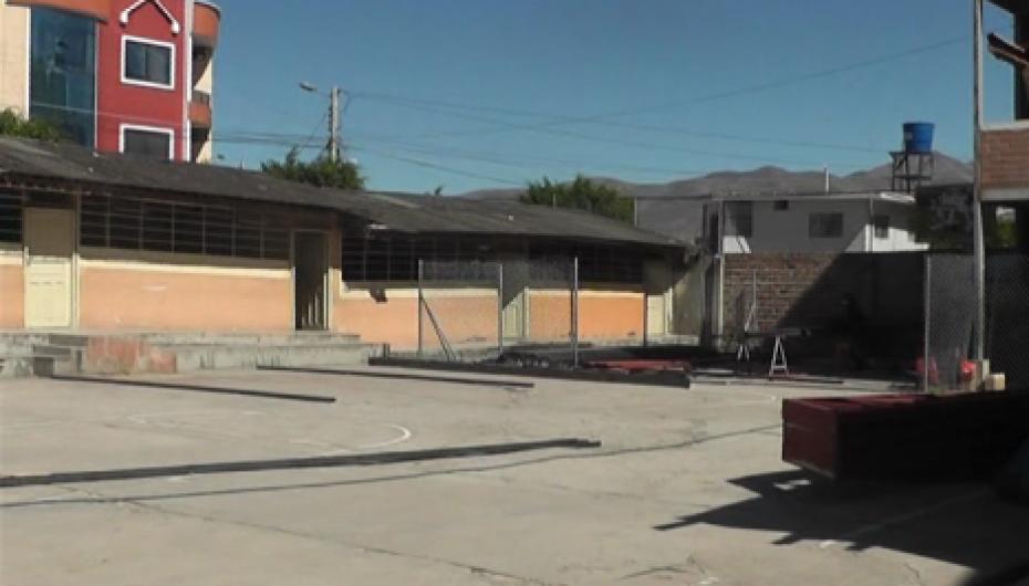 (Video) Un mes demoraría la construcción de la cubierta en la Unidad Nuestra Señora del Rosario.