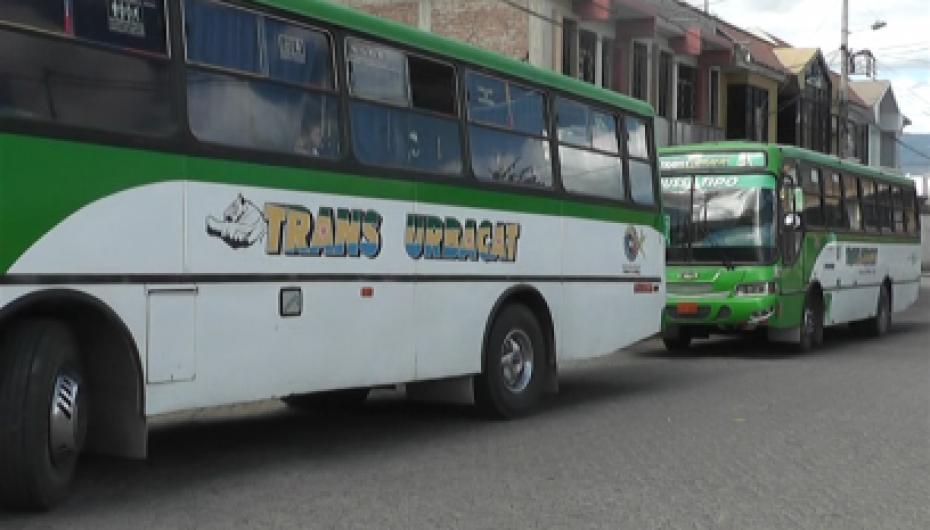 Gerente de Urbacat pide a las autoridades mayor control al transporte informal