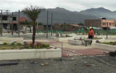Parque de San José sería entregado a finales de agosto, dice contratista
