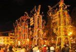 """Romeriantes sí podrán observar """"quema de castillo"""" y noche de luces en Catamayo"""