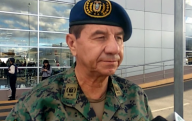 (Video) Inspector del Ejercito Ecuatoriano se encuentra en la Provincia de Loja.