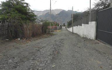 Presidente del sector Las Américas pide mejoramiento de calles.