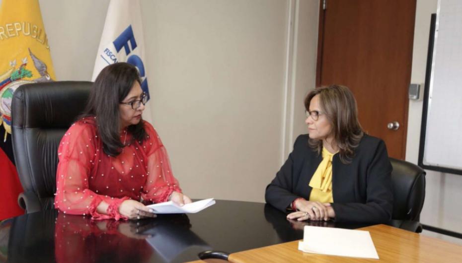 Presidenta de la Asamblea Nacional entregó pruebas a la Fiscalía sobre casos de 'impuesto al trabajo'