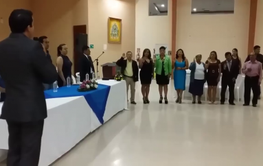 (Video) En acto especial fue posesionada nueva directiva asociación Divino Niño.