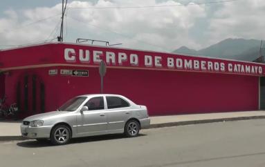 (Video) Sgto. Sergio Jiménez se encuentra a cargo del Cuerpo de Bomberos de Catamayo.