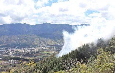 En Loja preocupa el incremento de incendios forestales