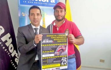 Club lojano organiza un curso de capacitación dirigido a motociclistas.