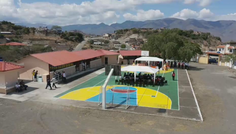 (Video) Inauguración de la escuela de educación básica especializada.
