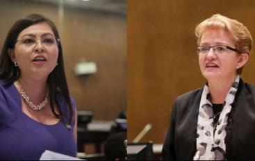 Sofía Espín y Norma Vallejo afrontan eventual destitución.