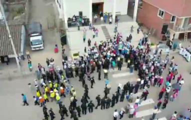 (Video) Policía Nacional del Distrito dos intensificó el número de personal para la Romería.