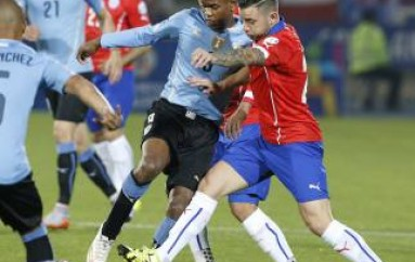 Chile consigue boleto a semifinales de Copa América tras vence 1-0 a Uruguay