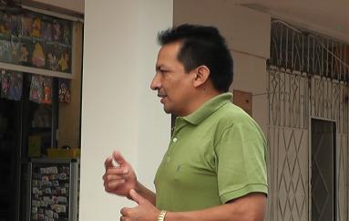 (Video) Director Cantonal de Alianza País descarta interés para llegar a la Jefatura Política de Catamayo