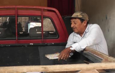 (Video) Otro morador de El Carmen también fue afectado por el incendio en una vivienda del sector