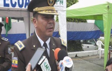 (ZAMORA) Homero Jaramillo es el Nuevo Comandante de Policía de Zamora Ch.