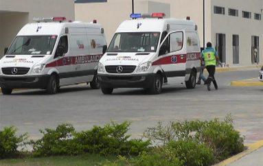 (Video) Centro de salud tipo C desarrolló un simulacro ante eventos adversos